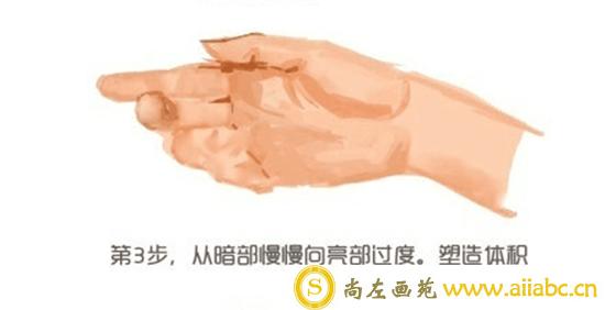 CG插画教程:手部的CG插画具体步骤教学