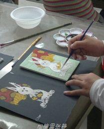 怎样制作吹塑纸版画?儿童吹塑纸版画的制作过程