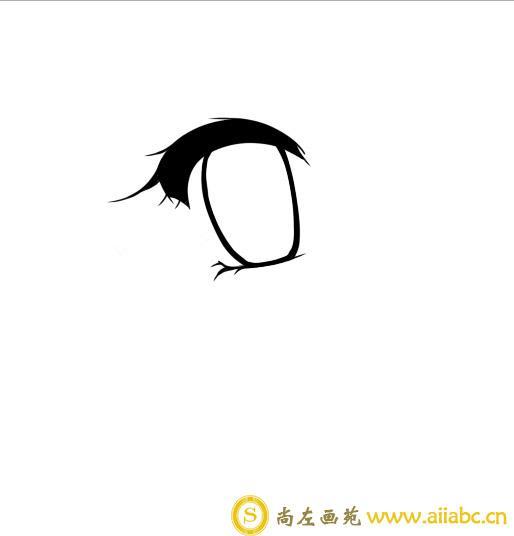 插画眼睛的画法