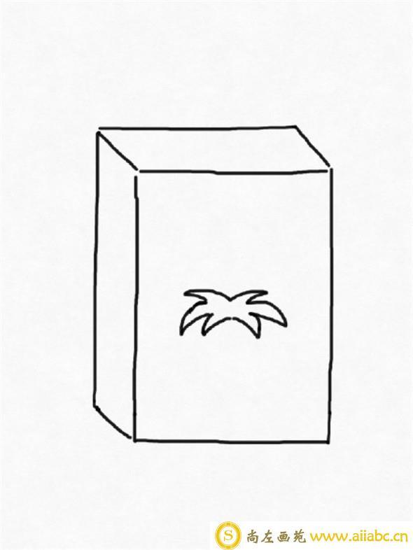 儿童画:旺仔牛奶儿童画画法
