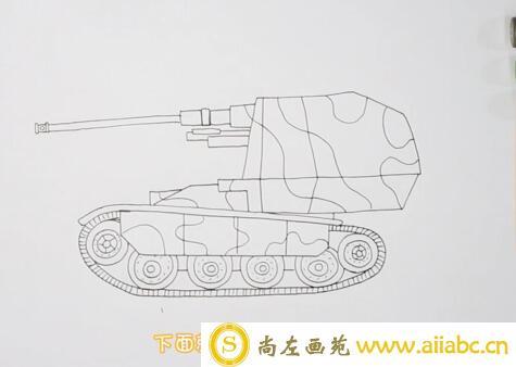 坦克简笔画步骤教程?坦克简笔画步骤教程