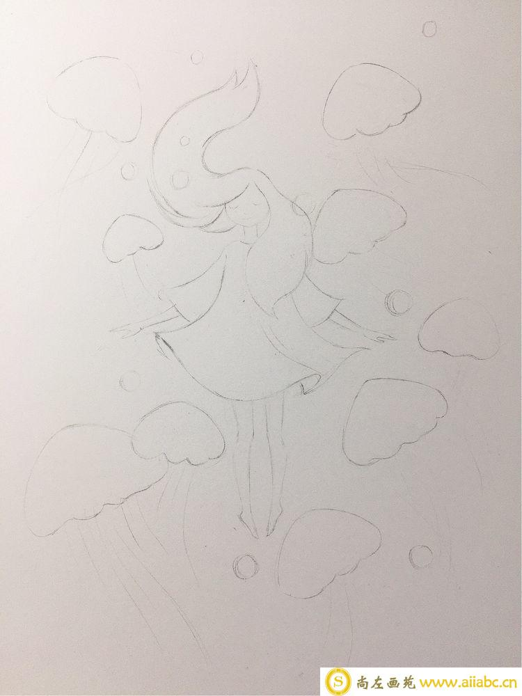 水溶性彩铅初学者教程