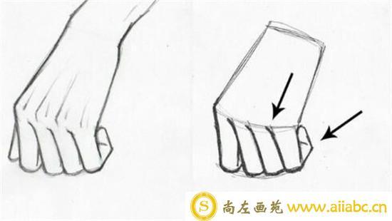 漫画教程:手部漫画具体画法