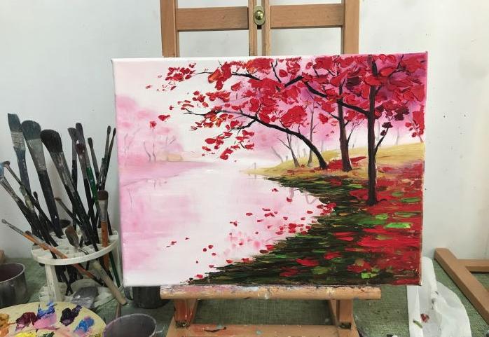 油画初体验